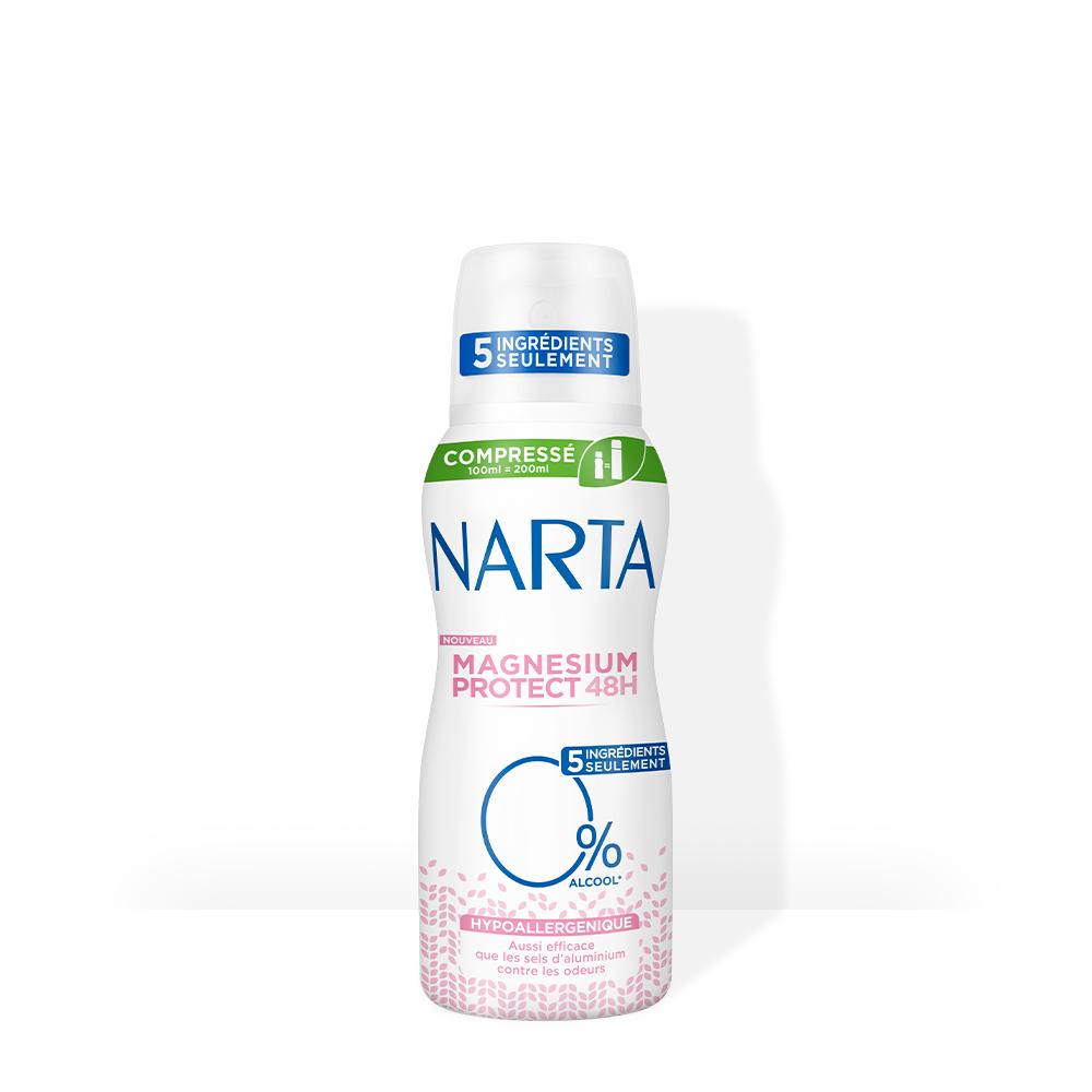 Narta Déodorant Femme Compressé Magnesium protect hypoallergénique
